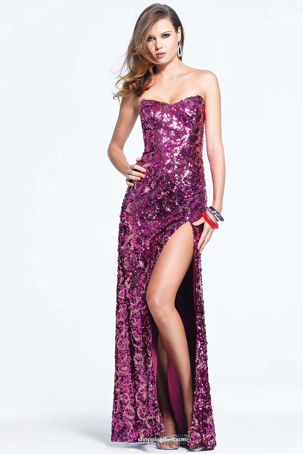 Sequin prom dresses